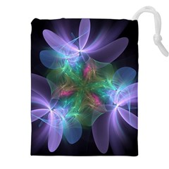 Ethereal Flowers Drawstring Pouches (XXL)