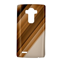 Metallic Brown/Neige Stripes LG G4 Hardshell Case