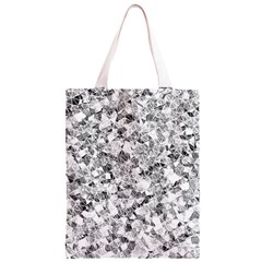 Silver Abstract Design Classic Light Tote Bag