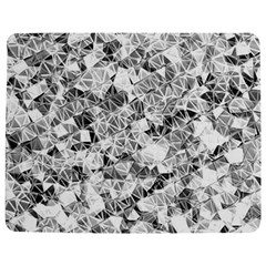 Silver Abstract Design Jigsaw Puzzle Photo Stand (Rectangular)