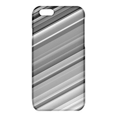 Elegant Silver Metallic Stripe Design iPhone 6/6S TPU Case