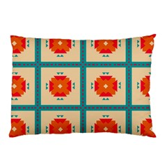 Shapes In Squares Pattern pillow Case