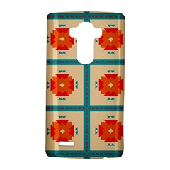 Shapes In Squares Pattern 			lg G4 Hardshell Case