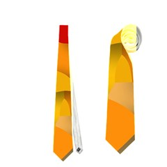 Red Spot Neckties (one Side)