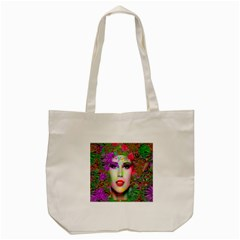 Flowers In Your Hair Tote Bag (Cream)