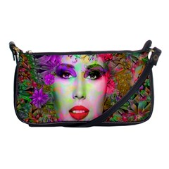 Flowers In Your Hair Shoulder Clutch Bags