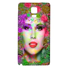 Flowers In Your Hair Galaxy Note 4 Back Case