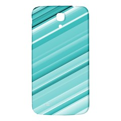 Teal And White Fun Samsung Galaxy Mega I9200 Hardshell Back Case