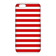 Red and White Stripes iPhone 6/6S TPU Case