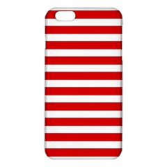 Red And White Stripes Iphone 6 Plus/6s Plus Tpu Case