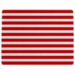 Red And White Stripes Jigsaw Puzzle Photo Stand (rectangular)