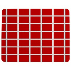 Red Cubes stripes Jigsaw Puzzle Photo Stand (Rectangular)