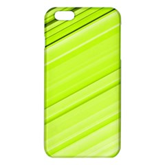 Bright Green Stripes iPhone 6 Plus/6S Plus TPU Case