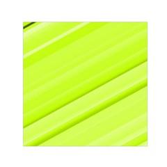 Bright Green Stripes Small Satin Scarf (square)