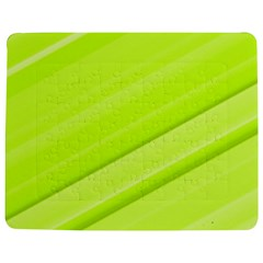 Bright Green Stripes Jigsaw Puzzle Photo Stand (Rectangular)