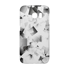 Gray And Silver Cubes Abstract Galaxy S6 Edge