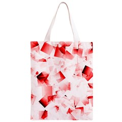 Modern Red Cubes Classic Light Tote Bag
