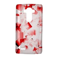Modern Red Cubes LG G4 Hardshell Case