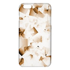 Modern Brown Cubes Iphone 6 Plus/6s Plus Tpu Case