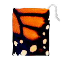 Butterfly Design 2 Drawstring Pouches (Extra Large)