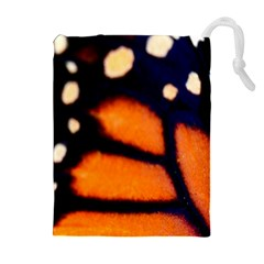 Butterfly Design 3 Drawstring Pouches (Extra Large)
