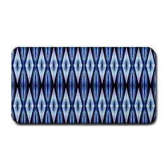 Blue White Diamond Pattern  Medium Bar Mats