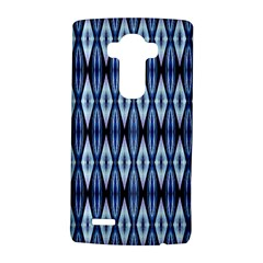 Blue White Diamond Pattern  Lg G4 Hardshell Case