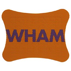 Comic Book Wham Dots Jigsaw Puzzle Photo Stand (Bow)
