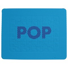 Comic Book Pop Dots Jigsaw Puzzle Photo Stand (Rectangular)