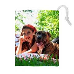 Pittie Picnic 2011 Drawstring Pouches (Extra Large)