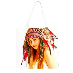 Indian 26 Grocery Light Tote Bag