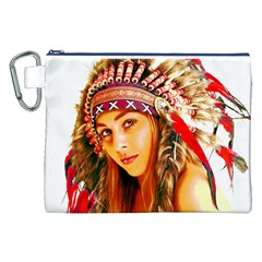 Indian 26 Canvas Cosmetic Bag (xxl)