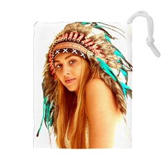 Indian 27 Drawstring Pouches (extra Large)