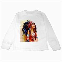 Indian 22 Kids Long Sleeve T Shirts