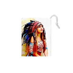 Indian 22 Drawstring Pouches (xs)