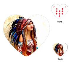 Indian 21 Playing Cards (heart)