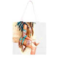 Indian 17 Grocery Light Tote Bag
