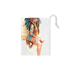 Indian 17 Drawstring Pouches (XS)