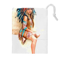 Indian 17 Drawstring Pouches (Extra Large)