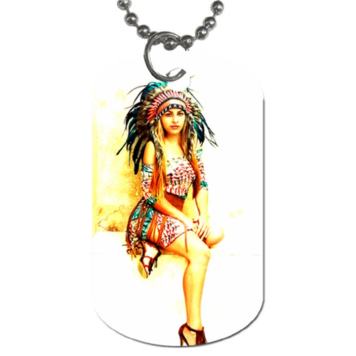 Indian 16 Dog Tag (Two Sides)