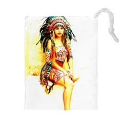 Indian 16 Drawstring Pouches (Extra Large)