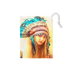 Indian 14 Drawstring Pouches (small)
