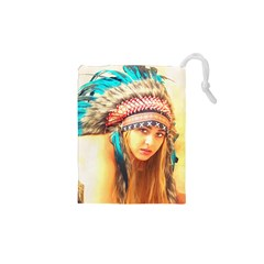 Indian 14 Drawstring Pouches (XS)