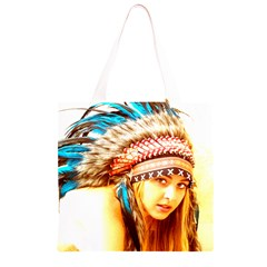 Indian 12 Grocery Light Tote Bag