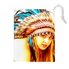 Indian 12 Drawstring Pouches (Extra Large)