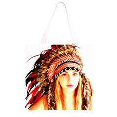 Indian 3 Grocery Light Tote Bag