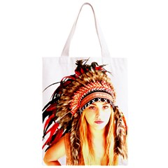 Indian 3 Classic Light Tote Bag