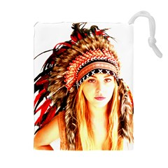 Indian 3 Drawstring Pouches (Extra Large)