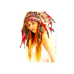 Indian 26 Shower Curtain 48  X 72  (small)