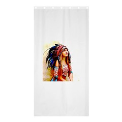 Indian 22 Shower Curtain 36  X 72  (stall)